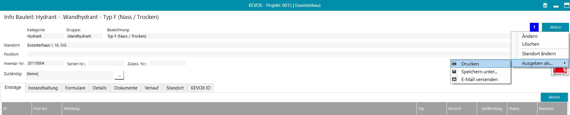 kevox barcode qr ausdrucken code inventar nummer schild label