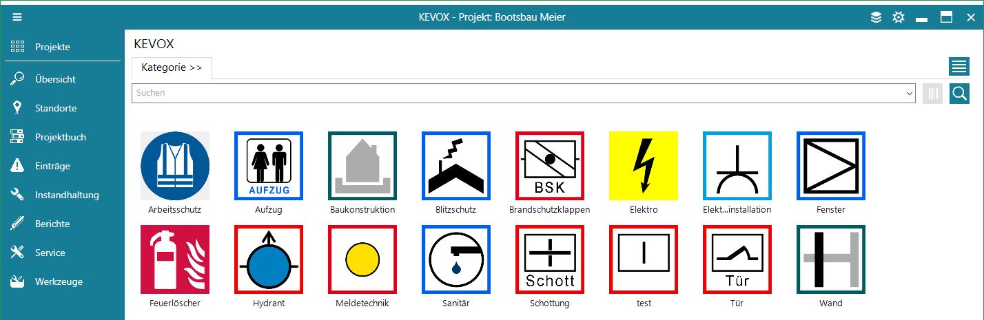 bauteil-symbol-katalog-liste-kacheln-standart-stock-kevox-management