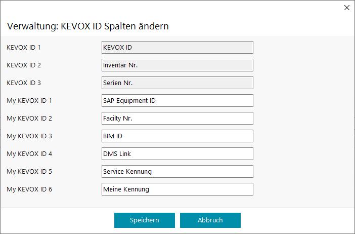 my-KEVOX-ID-umbenennen-sap-bim